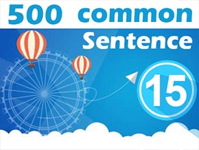 (15) 500 Most Common Chinese Sentence