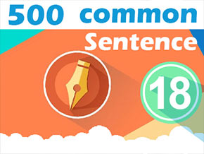 (18) 500 Most Common Chinese Sentence